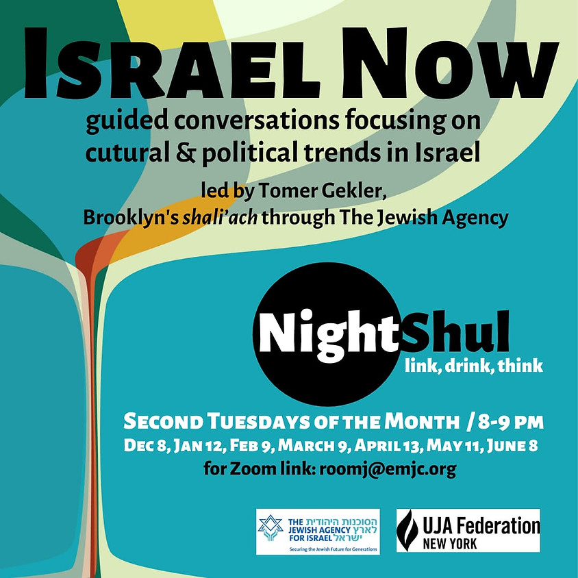 8:00PM Israel Now with Tomer Gekler