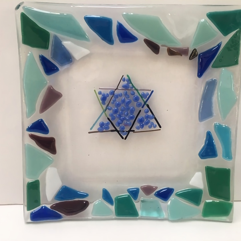 6PM: Shavuot Fused Glass Learning