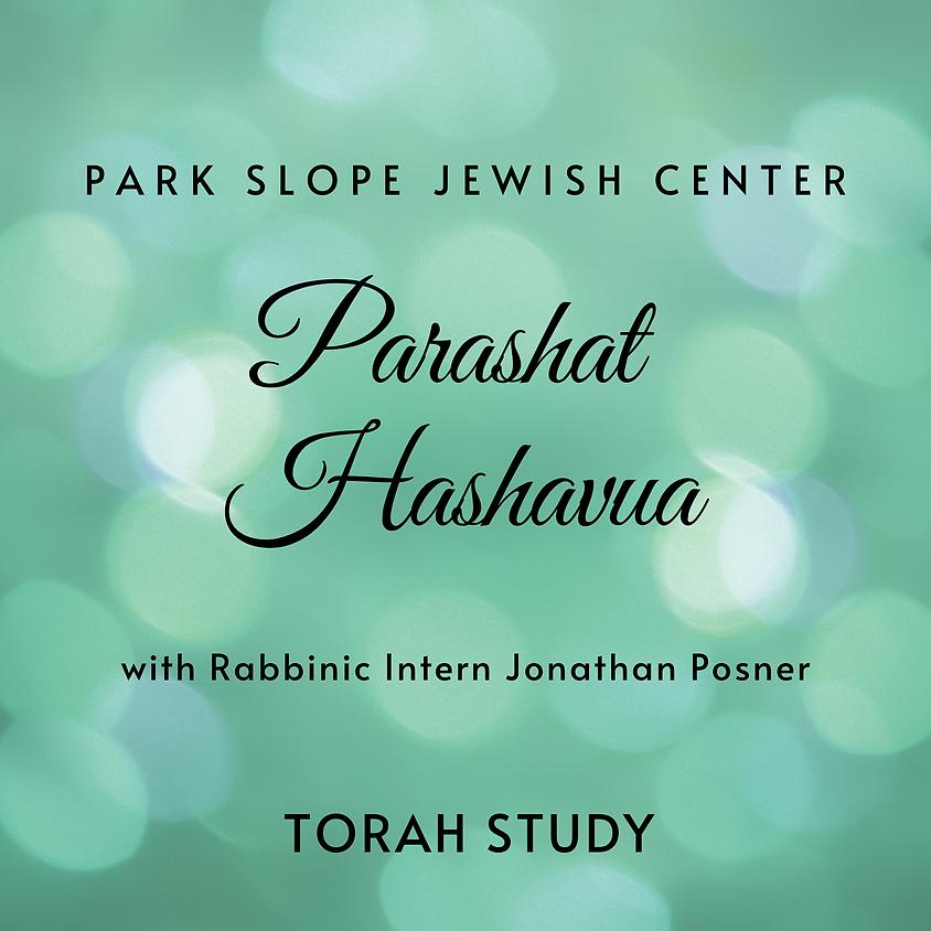 5:30PM Torah Study