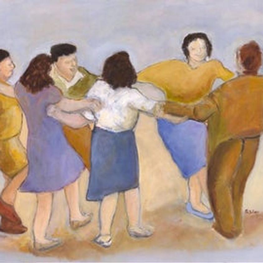 11:00AM PAI Shared Wisdom: Zoom Israeli Dance Workshop with Rina Rinkewich Spielberg