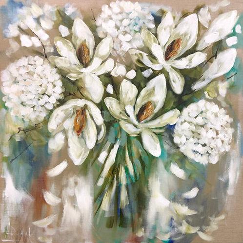 Coaster White Hydrangea