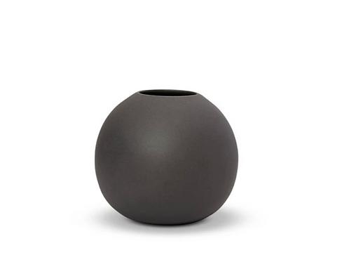 Cloud Vase Bubble Medium Charcoal