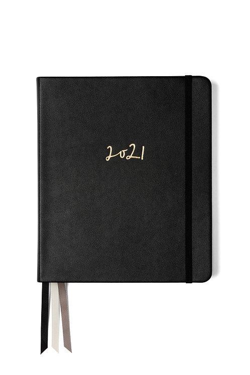 Weekly Planner 2021 Ink Black