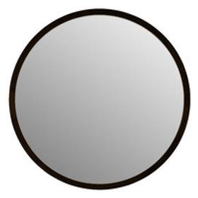 Mirror Tina Black solid wood 60cm