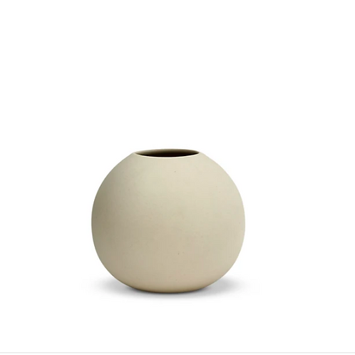 Cloud Vase Bubble Small Chalk White