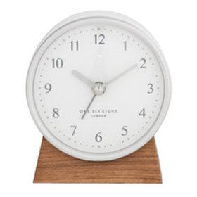 Clock Nina Silent Alarm Clock White
