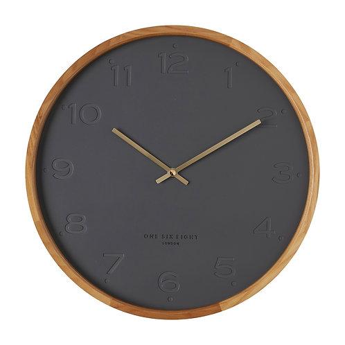 Clock Freya Charcoal 50cm