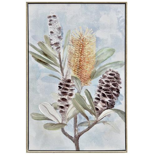 Wall Art Banksia & Pods