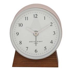 Clock Nina Silent Alarm Clock Blush