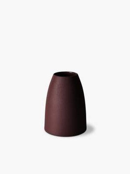 Mona Cone Vase Umber