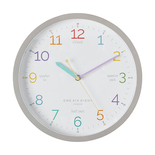 Clock Learn the Time 30cm