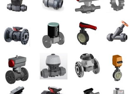 Plastic Valve Metric ALL