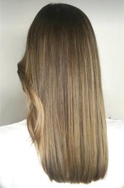 Beige hair