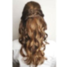 Wedding hair margauxsalon