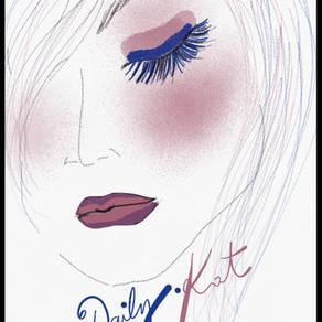 Bleu Indigo et Vieux Rose