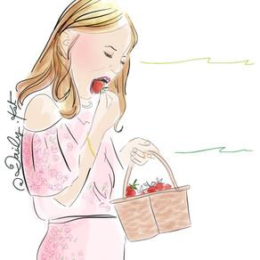La saison des fraises est ouverte !