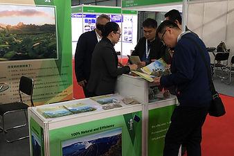 Volcanix stand in Shanghai fair