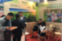 Volcanix booth at the agricultural exhibition