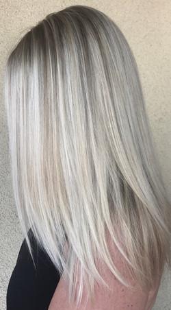 platinum hair color