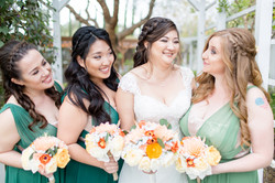 bridal party braided hair