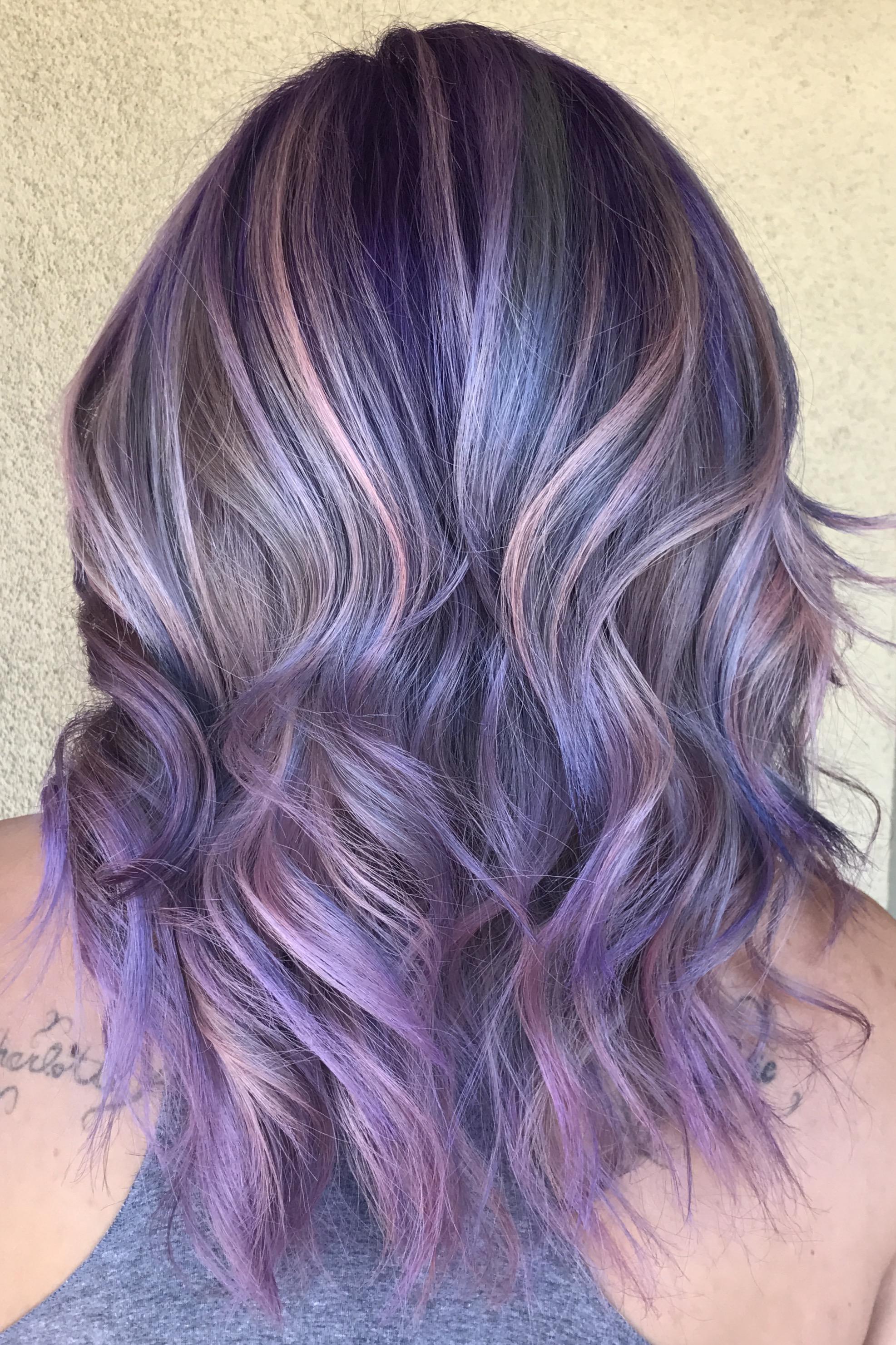 unicorn hair mermaid hair