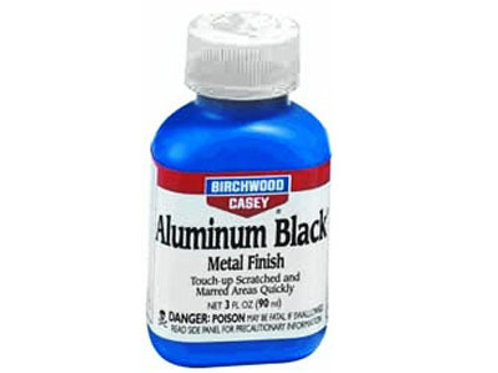 Birchwood Casey Aluminum Black Metal Finish, 3 oz.