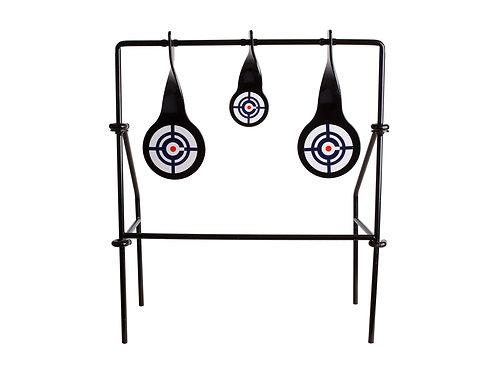 Crosman Spinning Logo Target, 3 Metal Spinners