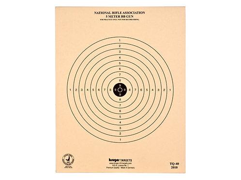"""Kruger 5 Metros BB Target, 7""""x 9"""""""