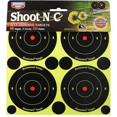 "Birchwood Casey Shoot-N-C 3"" Targets"