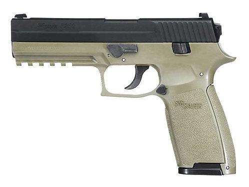Sig Sauer P250 CO2 Pistol, OD Green
