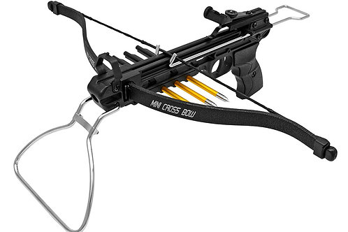 80 Lb. Pistol Crossbow, Black