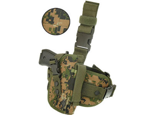 UTG Special Ops Universal Tactical Leg Holster, Woodland