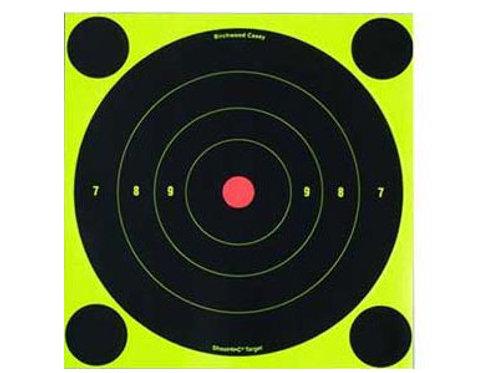 "Birchwood Casey Shoot-N-C Targets, 8"" Bullseye"