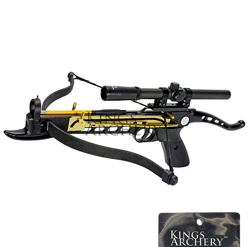 80 Lb. Crossbowby KingsArchery® Scoped