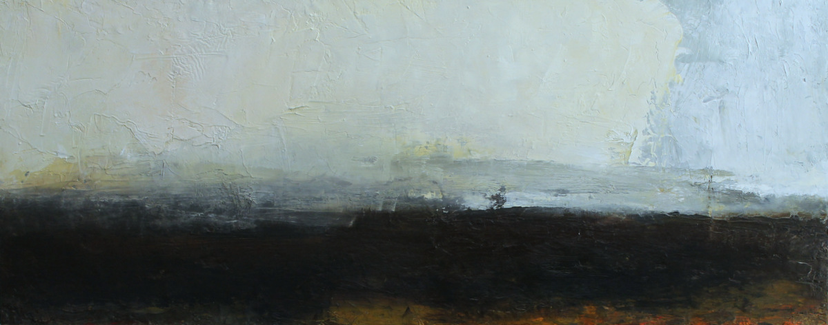 Foreshore ii | oil on canvas | 30x76cm