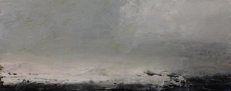 Winter Sea | oil on canvas | 30x76cm