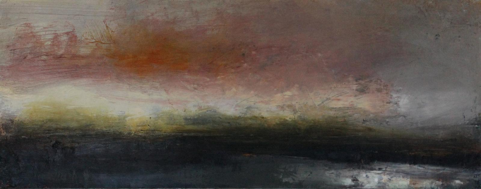 last light - Derriana | oil on canvas |