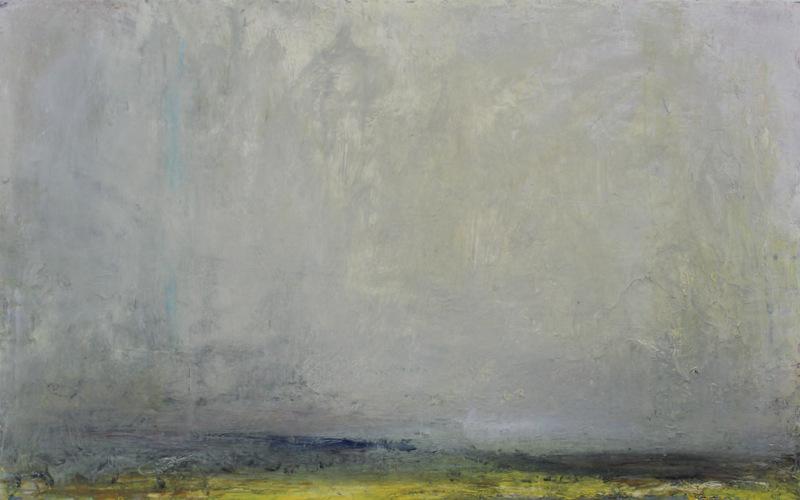 Shore Fields | oil on canvas | 46x7