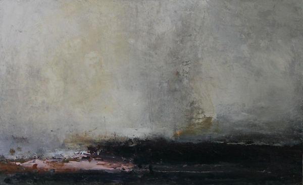 carol hodder Coast iii oil on canvas 50x