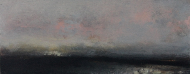 Last Light | oil on canvas | 30x76cm | private collection