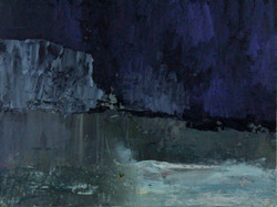 Ice Field iv | oil on canvas | 40x60cm
