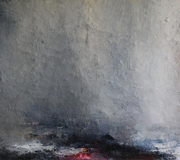 carol hodder Coast ii oil on canvas 114x