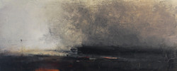 Foreshore | oil on canvas | 30x76cm