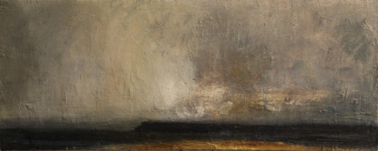 Headland | oil on canvas | 30x76cm |
