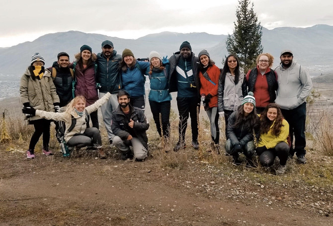 Kenna Cartwright- Last Hike of the Semester