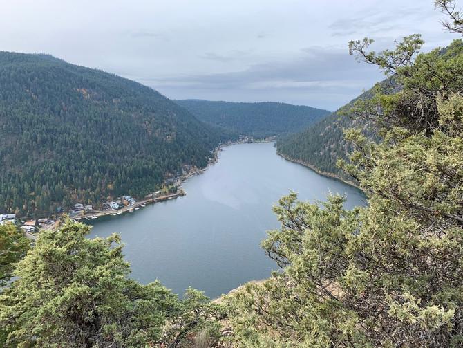 Canoeing and Hiking at Paul lake