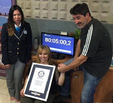Dulce Meneses Guinness World Records