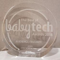Winner of CES 2018 Best of Baby Tech Awards