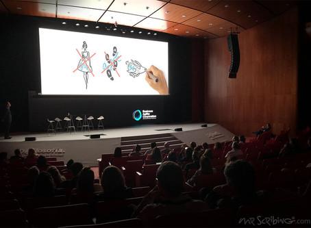 Video-Scribing première en el Auditorio Solaruco