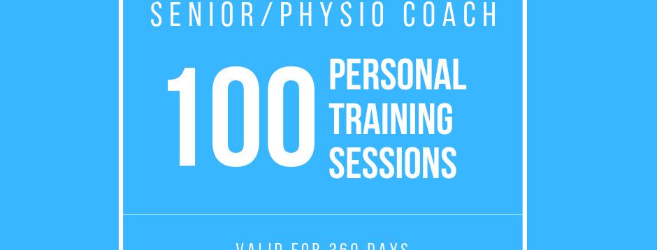 Senior/Physio: 100 Sessions